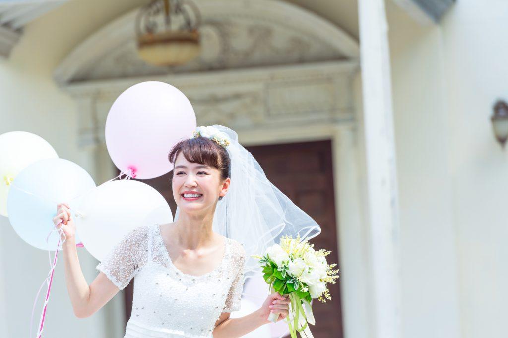 ブライダルの花嫁様